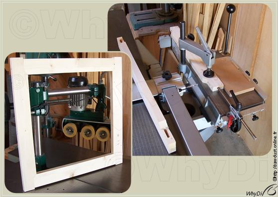 SawDust : Building a Mitring Stick Frame