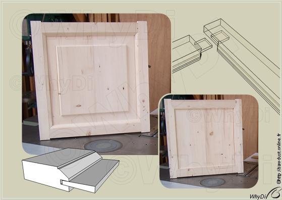 sawdust fabriquer un cadre avec assemblage l 39 ancienne. Black Bedroom Furniture Sets. Home Design Ideas