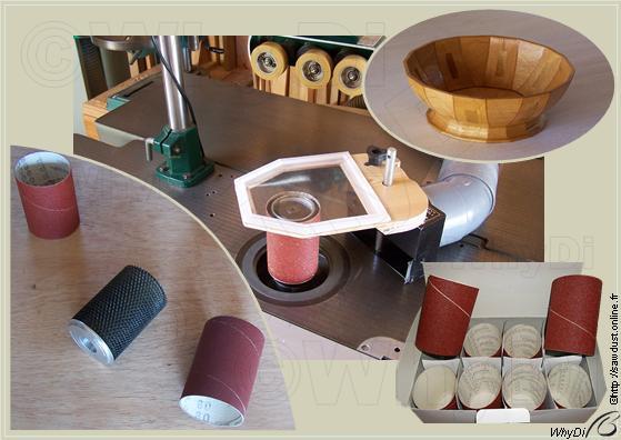 sawdust cylindre de pon age pour toupie. Black Bedroom Furniture Sets. Home Design Ideas